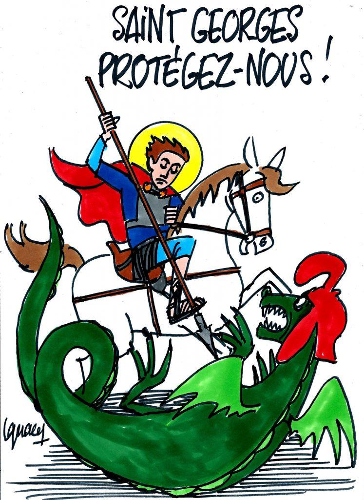 Ignace - Aujourd'hui, c'est la saint Georges !