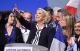 Élections présidentielles, Marine Le Pen se moque des discours en anglais de Macron