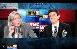 L'étonnant tract de Marine Le Pen pour draguer les électeurs de Jean-Luc Mélenchon