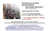 """2 mai 2017 à Paris – Dîner-débat avec Henri de Saint-Bon """"Les chrétiens d'Orient : extinction ou résurrection ?"""""""