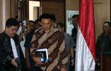Akok, l'ex-gouverneur chrétien de Jakarta condamné à 2 ans de prison pour blasphème contre l'islam