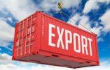 Dépendance des exportations : un peu (USA), beaucoup (France), énormément (Allemagne)…