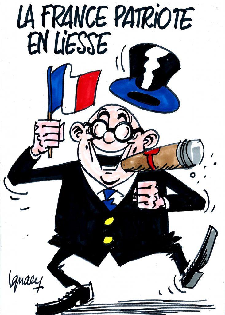 Ignace - La France patriote en liesse