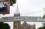 En Inde, la foule enragée dévaste l'église de Notre-Dame-de Fatima et détruit la statue de la Vierge