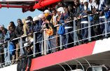 """Immigration: les militants de Génération identitaire interviennent dans les ports italiens pour l' opération """"Défend l'Europe"""""""