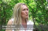 Anne Le Baut, engagée contre la théorie du genre et candidate Civitas dans la 4e circonscription des Hauts-de-Seine