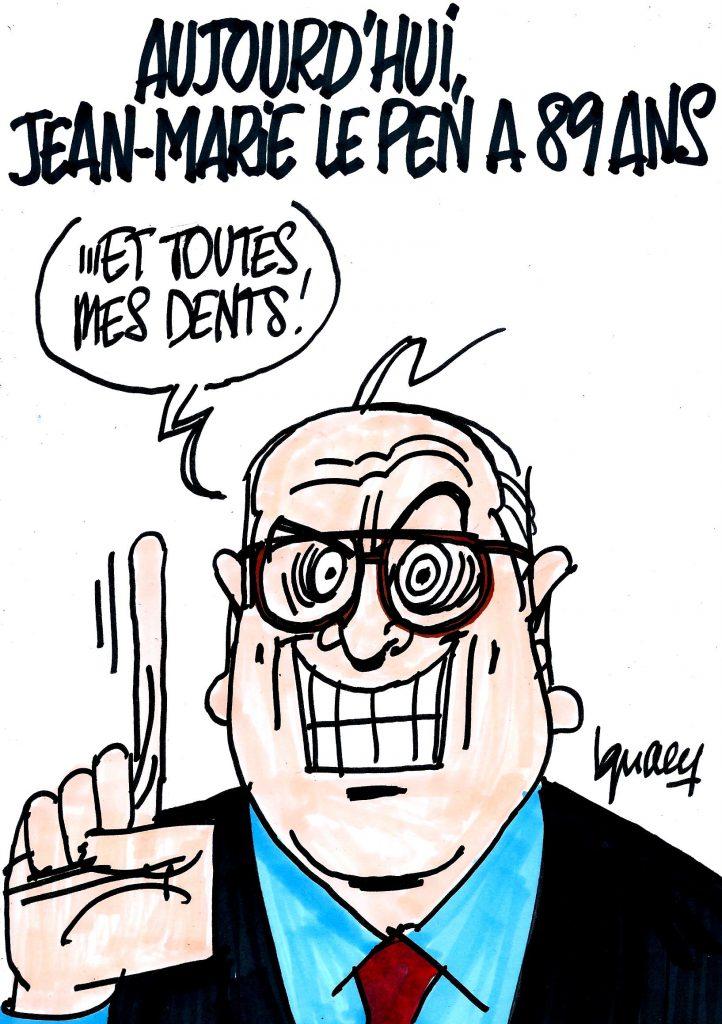 Ignace - Aujourd'hui, Jean-Marie Le Pen a 89 ans