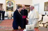 Le pape François et Angela Merkel communient à la même idéologie immigrationniste!