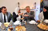 Islamophile, le roi des Belges rompt le jeûne du ramadan chez un imam