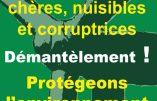 Campagne contre lés éoliennes, les nuisances et la corruption qui les accompagnent