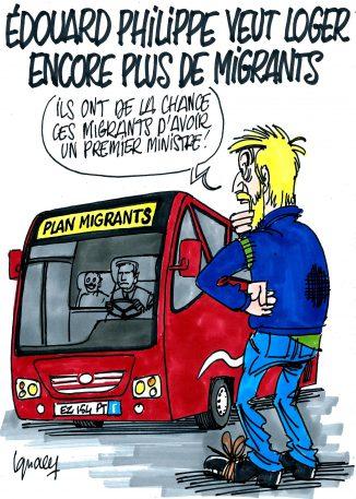 Ignace - Édouard Philippe et son plan migrants