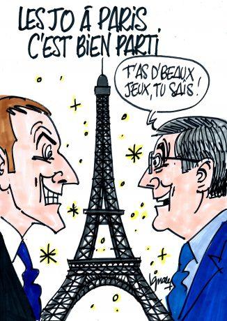 Ignace - Les JO à Paris, c'est bien parti !