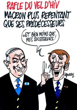 Ignace - Macron plus repentant que ses prédécesseurs