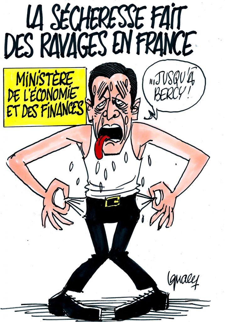 Ignace - Ravages de la sécheresse en France
