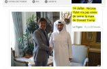 Nicolas Hulot préfère serrer la main du premier ministre qatari que de Donald Trump