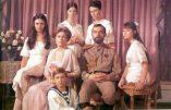Le peuple russe rend hommage aux Romanov