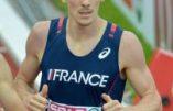 Français, blanc et champion du monde du 800 mètres !