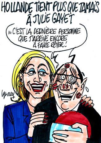 Ignace - Hollande tient plus que jamais à Julie Gayet