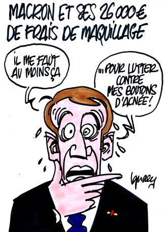 Ignace - Macron et ses frais de maquillage