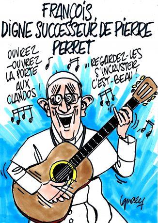 Ignace - François, digne successeur de Pierre...