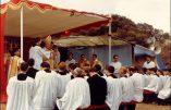 Sermon de Mgr Lefebvre à Fatima : le grand mystère  de la situation de la papauté aujourd'hui (22 août 1987)