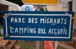 Dans un parc bruxellois rempli d'immigrés illégaux, une ONG tente de nous faire croire qu'il y a parmi eux de futurs chefs d'entreprises !