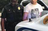 Bobos blancs de Black Lives Matter face à des patriotes sudistes noirs