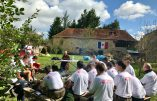 "Reportage – Camp d'été France Jeunesse Civitas, promotion ""Saint Michel"""