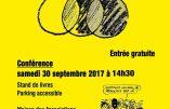 """30 septembre 2017 à Aix-les-Bains – Conférence de Jean-Michel Vernochet : """"Le grand remplacement"""""""