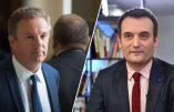 Dupont-Aignan voit séparément Marine Le Pen puis Florian Philippot