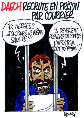 Ignace - Daech recrute en prison par courrier