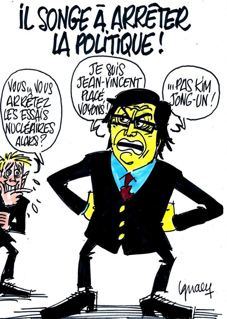 Ignace - Il songe à arrêter la politique !