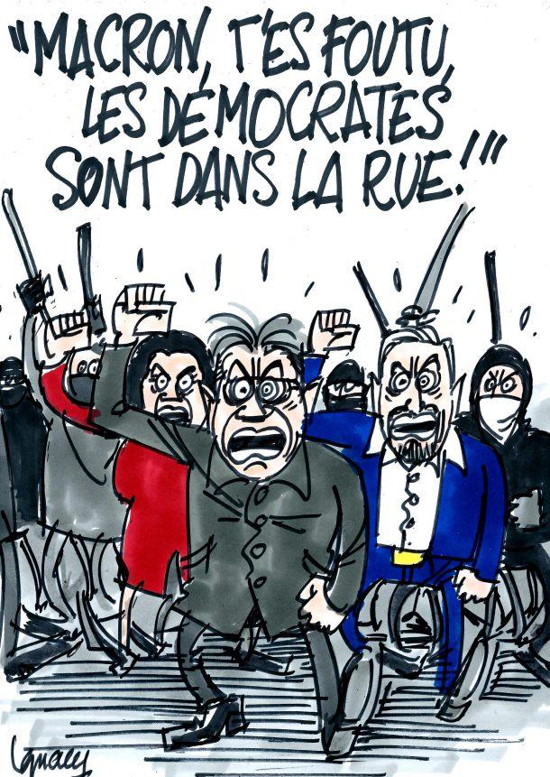 Ignace - La manif de Mélenchon