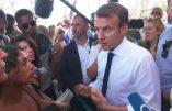 """A Saint-Martin, l'arrogant Macron refuse les critiques qui manqueraient de """"dignité"""" ! Les habitants le prennent à partie…"""