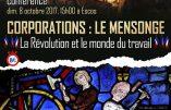 8 octobre 2017 à Escos – Conférence de Marion Sigaut : «Corporations: le mensonge – La Révolution et le monde du travail»