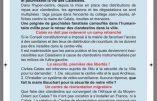 Tractage Civitas à Calais : ni clandestins ni antifas !