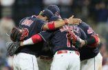 Les Indians de Cleveland effacent le record des Oakland Athletics