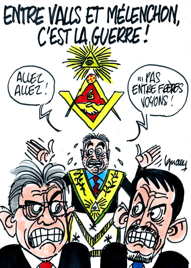 Ignace - Guerre entre Valls et Mélenchon