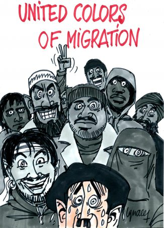 Ignace - United colors of migration