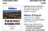 6 décembre 2017 à Bruxelles – Conférence d'Alban d'Arguin au Parlement européen