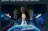 Gérard Filoche bientôt exclu du PS et poursuivi par Attali et la LICRA pour un simple photomontage anti-Macron ?