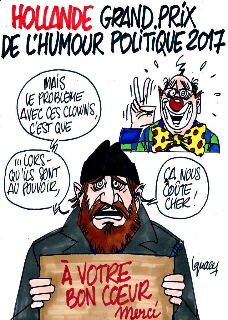 Ignace - Hollande, grand prix de l'humour 2017