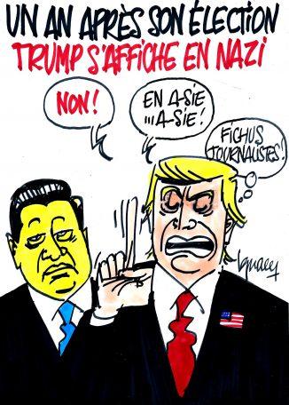Ignace - Trump en nazi ?