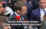 Macron c'est «parole, parole, parole…»