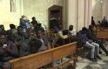 Marseille : des immigrés occupent l'église Saint-Férréol