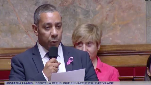 Encore un député d Emmanuel Macron qui vole haut ! Mustapha Laabid, député  LREM de Rennes, vante sur sa page Facebook les graffitis. 85432145852