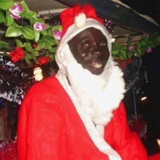 Etats Unis Voilà Le Père Noël Noir Et Homosexuel Medias