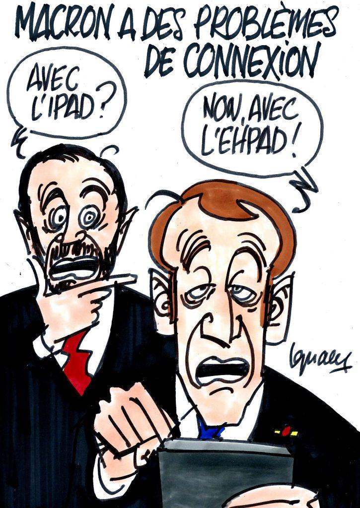 Ignace - Macron a des problèmes de connexion