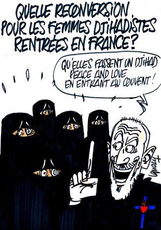 Ignace - Quid des femmes djihadistes revenues en France ?