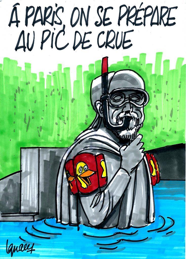Ignace - Paris se prépare au pic de crue